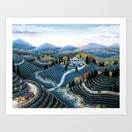 Hudson Valley By Kathy J… Art Print