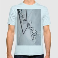 Roxie The Dalmatian 1 Mens Fitted Tee Light Blue SMALL