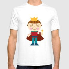 Prince charming Mens Fitted Tee White SMALL