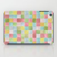 Watercolor Quilt iPad Case