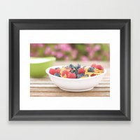 Breakfast Framed Art Print