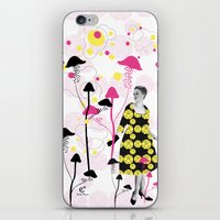 Mushroom iPhone & iPod Skin