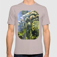 Tarairi Forest Morning Mens Fitted Tee Cinder SMALL