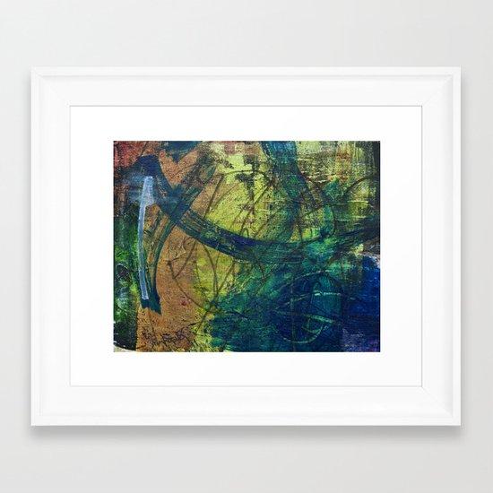 walls #3 Framed Art Print