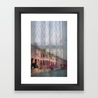 Coventry Road - Sad Heart by Anna Chocola Framed Art Print