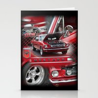 1966 Mustang  Stationery Cards