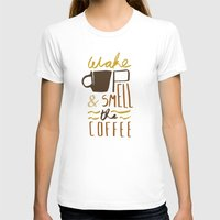 coffee T-shirts featuring Coffee by David