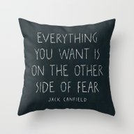 I. The Other Side Of Fea… Throw Pillow