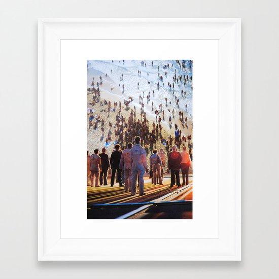 Life Moves Pretty Fast Framed Art Print