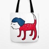 Dog-girl Tote Bag
