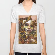 Queen of Enlightenment  Unisex V-Neck