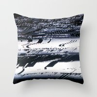 Analogue Gun Throw Pillow