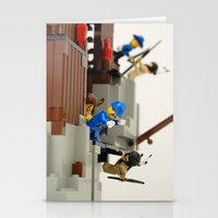 Lego Fight Stationery Cards