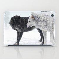 Ebony And Ivory   iPad Case