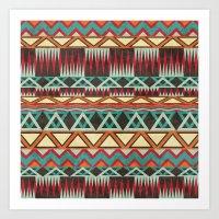Native. Art Print