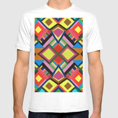 Color Play Mens Fitted Tee White SMALL