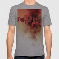 Freud's Superego Mens Fitted Tee Athletic Grey SMALL