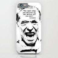 Charles Bukowski Quote C… iPhone 6 Slim Case