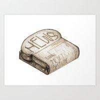 Info Toaster Art Print