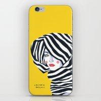 Lauren Bacall iPhone & iPod Skin