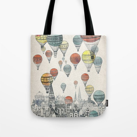 Voyages over Edinburgh Tote Bag