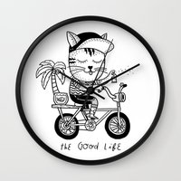 The Good Life Wall Clock