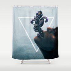 Effervescent in the Pure of Water Shower Curtain