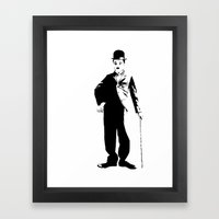 Chaplin Framed Art Print