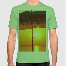 TWILIGHT Mens Fitted Tee Grass SMALL