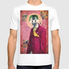 What Are You Laughin' At? White SMALL Mens Fitted Tee