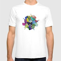Pinion Efforvescent Mens Fitted Tee White SMALL