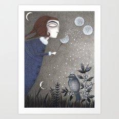 Winter Twilight Art Print