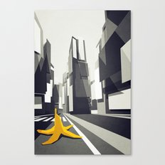 No taxi's in New York Canvas Print