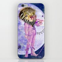 Moonlight Lion Strings  iPhone & iPod Skin