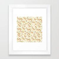 Butterflies and Dragonflies Framed Art Print
