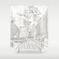 LA Shower Curtain