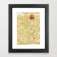 Lines And Texture 3 Framed Art Print