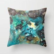 Galaxy 06 Throw Pillow