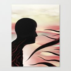 Between monsters Canvas Print