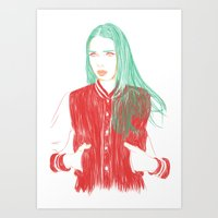 That Girl Art Print