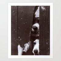 Through Thick & Thin Art Print