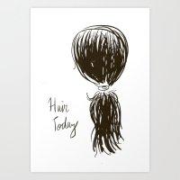 Hair Today Art Print