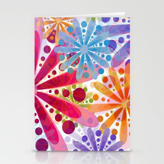 Flower 32 Stationery Card