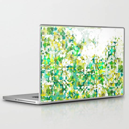 Zellige | 001 Green Laptop & iPad Skin