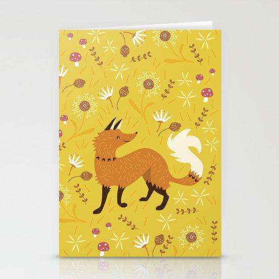 Cute as a Fox Stationery Card