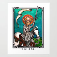 Joan of Arc Art Print