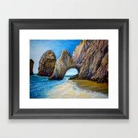Beach 3 Framed Art Print