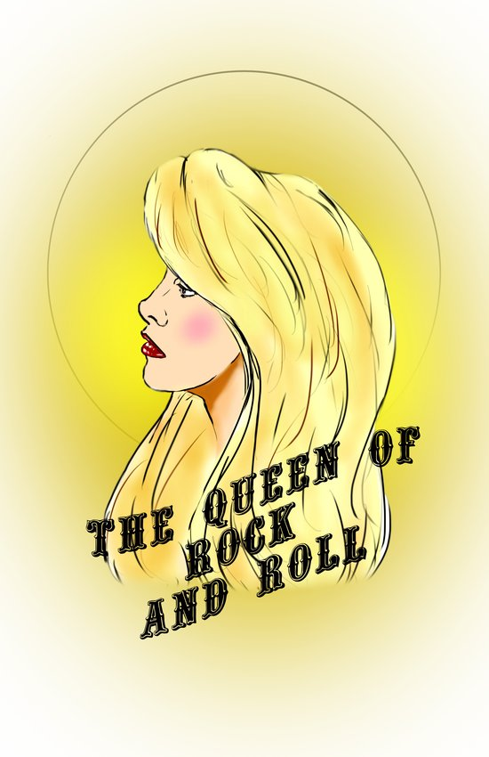 The Queen of Rock and Roll Art Print