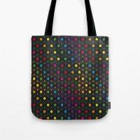Disco Records Tote Bag