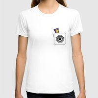 Pockets - Hurley - Womens Fitted Tee White SMALL